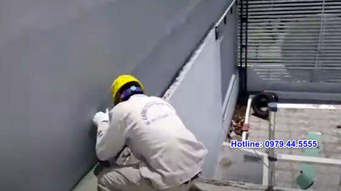 Chống Thấm Tường Nhà Liền Kề