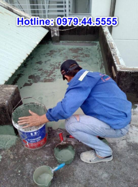 Thợ thi công chống thấm tại Bình Dương