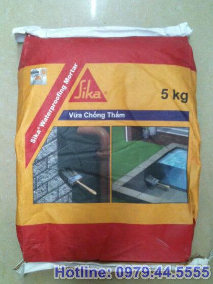 Vữa chống thấm Sika Waterproofing Mortar