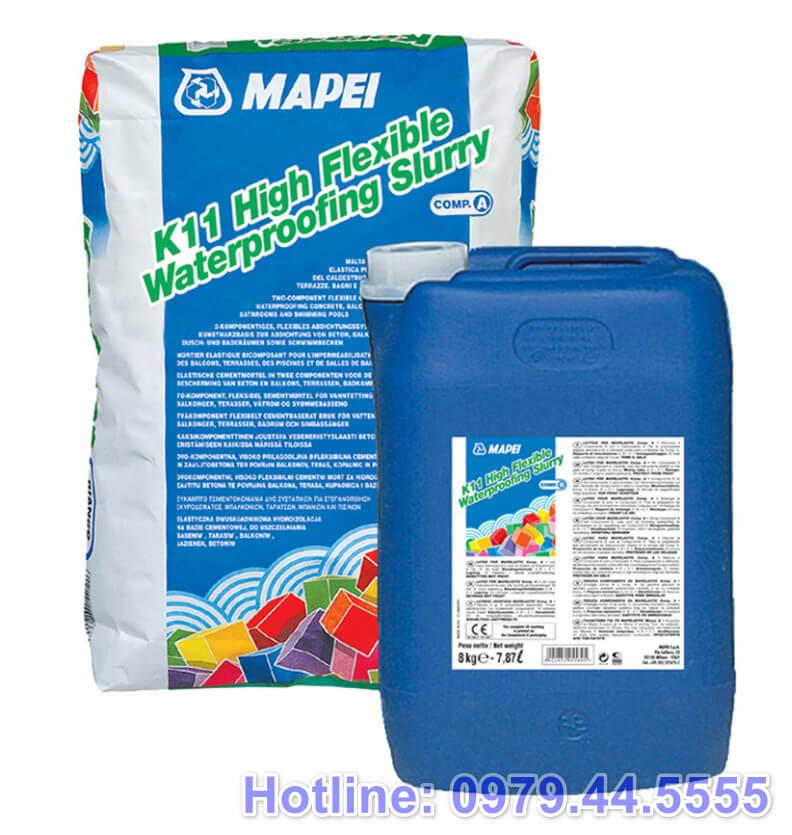 Vữa xi măng chống thấm Mapei