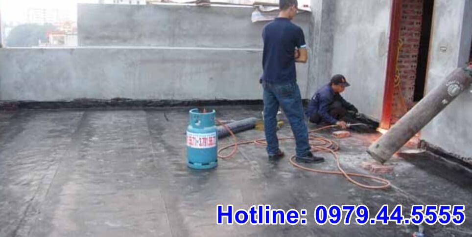 chống thấm sàn mái bê tông